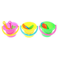 4pcs Tiny Beach Sand Shovel Tool Toys Play sand Bucket For Kids Outdoor Toys FO