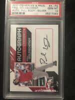 2011 ITG Paul Goldschmidt Auto RC Silver PSA Gem Mint 10 Cardinals SP PERFECT