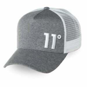 Mens 11 Degrees Trucker Cap - Grey