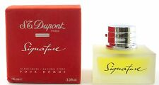 (prezzo base 139,90 €/100ml) S.T. Dupont Paris Signature pour homme 100ml after SH
