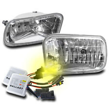 2009+ DODGE RAM 1500/2010+ 2500/3500 PICKUP CHROME BUMPER FOG LIGHTS W/3000K HID