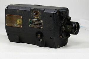 Bell and Howell US Navy N6A 16mm Gun Sight Aim Point Camera