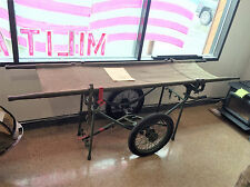 (NEW) US Military - Wheeled Field Litter Carrier - Great for Hunting, Hauling...