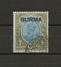 BURMA 1937 SG 17 USED Cat £275