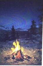 "MOUNTAIN CAMPFIRE Artist Proof #15/20 (Giclee Canvas 36"" X 54"") Stephen Lyman"