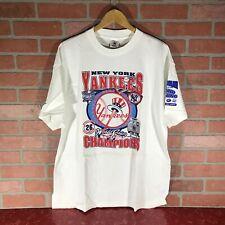 New York Yankees World Series 2000 T Shirt Xl Vintage Unworn Mlb Baseball Subway