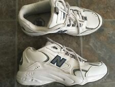 NEW BALANCE 336 Women's White/ Gray Leather Athletic Low Training Shoes 8 M/ 39