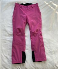 SALOMON Women's Pink Ski Trousers. Size UK XL. Excellent Condition.