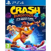 CRASH BANDICOOT 4: IT'S ABOUT TIME PLAYSTATION 4 PREORDER ACTIVISION GAME