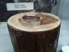 """ Kisatchie "" La. Size 8 1/2 Custom Made Coin Ring U.S. State Quarter"