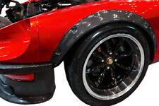 felgen tuning 2x Radlauf Kotflügel Leisten Verbreiterung CARBON für Fiat Stilo