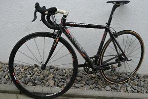 Scapin Racing Carbon Rennrad, 7,3 kg, Easton EC 90 SLX Felge FRM  Dura Ace