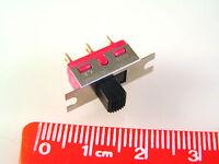 C&K 1101 Slide Switch Panel Mount Single Pole On/None/On 3A 250V OM0548B