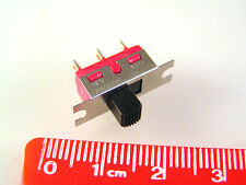 C & K 1101 Slide Switch Panel Mount Single Pole On/None/On 3A 250V OM0548B