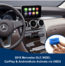 2018 Mercedes CarPlay Androidauto Activation via OBD W205 C-class W253 GLC