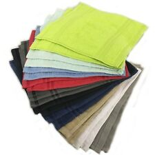 100% Egyptian Cotton Face Flannels Face Cloth 500 Gsm - 2 Pack Twin Soft Cotton