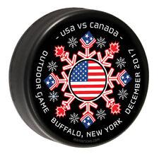 USA Hockey Puck Buffalo, NY Official Hockey Puck - Collectible Puck