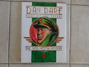 NEW DAN DARE PILOT OF THE FUTURE THE RED MOON MYSTERY HARDCOVER BOOK