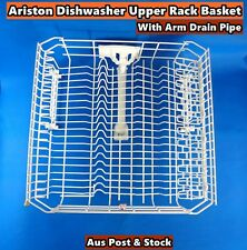 Ariston Dishwasher Spare Parts Upper Rack Basket With Arm Drain Pipe (S192)Used
