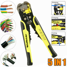 5 In 1automatic Cable Wire Striper Cutter Crimper Stripping Pliers Terminal Tool