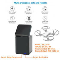 For DJI Tello Storage Type 3-in-1 Battery Intelligent Charging Hub Charger Dock