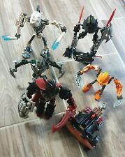 Lego Bionicle-Hero Factory-Knights Kingdom -8 Stück