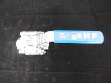HF Absperrventil Absperrhahn Kugelhahn 1/2F-3/4R DN15F-20R CF8M 2000WOG NEU
