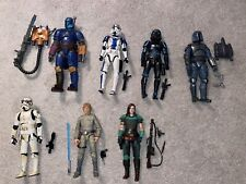 Star Wars The Black Series 6 Inch Lot: Cara Dune, Mandalorian Loyalist, 7 Figs