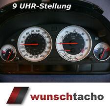 Cadran de compteur de vitesse pour BMW e38-e39/E53/X5 9 Montre position Essence