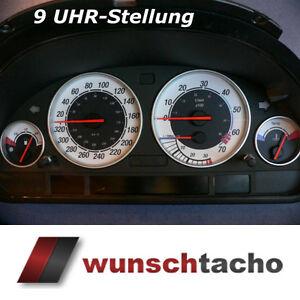Tachoscheibe für BMW E38-E39/E53/X5  *9 Uhr Stellung*  Benziner M5