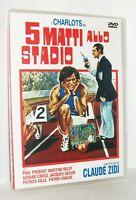 5 MATTI ALLO STADIO  - (1972) DI CLAUDE ZIDI - I CHARLOTS -  DVD SIGILLATO