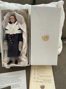 "THOMAS JEFFERSON LIVING IMAGE DOLL US HISTORICAL SOCIETY 12"" ORIGINAL BOX #140"