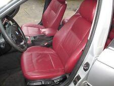 BMW E46 Touring Lederausstattung Rot inkl Kopfstützenmonitoren