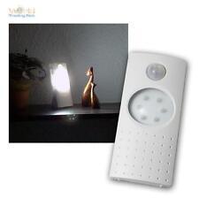 LED Nachtlicht Eingangsleuchte mit 6 LEDs Bewegungsmelder und Dämmerungssensor