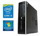 FAST WINDOWS 7 HP ELITE Desktop SFF PC 2nd Gen Core i5 2GB DDR3 RAM 250GB CHEAP