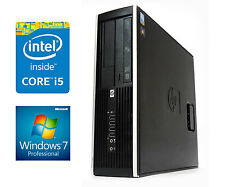 FAST WINDOWS 7 HP ELITE Desktop SFF PC 2nd Gen Core i5 4GB DDR3 RAM 250GB CHEAP