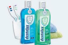 Dentalux Freshmint & Coolmint Mouthwash - 2 x 500Ml Reduced
