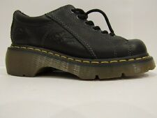 New Dr. Doc Martens Shoes Women's  Black Leather US Size USA 6 UK 4