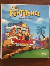 COMPLETE SET OF FLINTSTONES TRADING CARDS by CARDZ 1993-w/CUSTOM BINDER + EXTRAS
