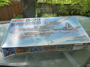 Monogram #5700 1/48 B-29 SUPERFORTRESS Model Kit! Open Box