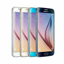 Samsung Galaxy S6 SM-G920F 32GB LTE 4G Schwarz Gold Blau Weiß Android Smartphone