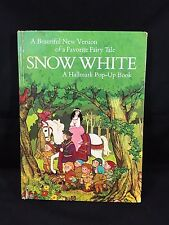 Hallmark Pop-Up SNOW WHITE Arlene Noel Good Condition First Edition Book