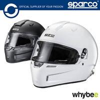 003345 Sparco AIR PRO RF-5W Carbon Race Helmet Fibreglass Snell FIA