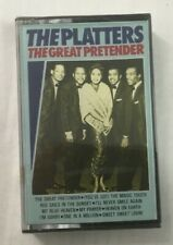 "The Platters ""The Great Pretender"" NEW & SEALED Tape Cassette"