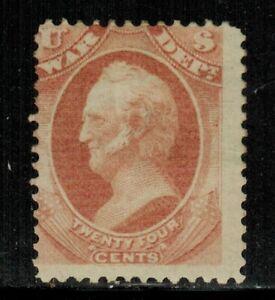 United States #O91 1873 MH