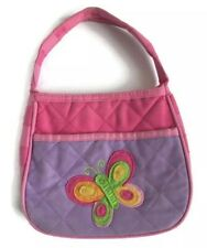 Stephen Joseph Quilted Butterfly Purse for Girls Kids Handbags