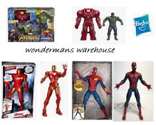 Talking Marvel Figures - Iron Man/Spiderman/Hulk & More - New & Boxed