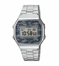Grigio Camouflage Digitale ILLUMINATORE WATCH A168WEC-1EF da Casio
