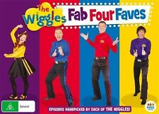 The Wiggles - Fab Four Faves Favourites (DVD, 2016, 4-Disc Set)