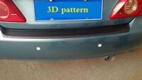 Carbon Fiber Look Cover Anti Scratch Sticker For Car Rear Bumper Protector Plate